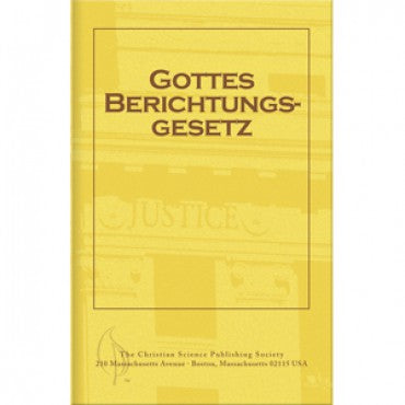 Pamphlet: Gottes Berichtungs Gesetz (German) God's Law of Adjustment