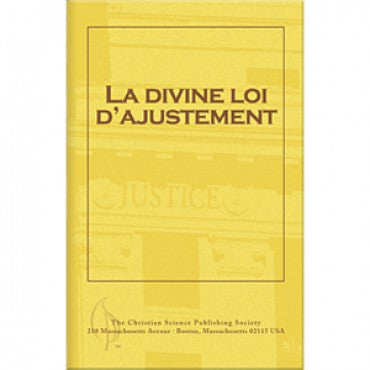 pamphlet-La-divine-loi-d'ajustement-Gods-Law-of-Adjustment-French
