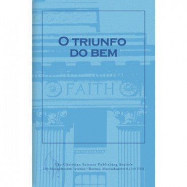 Pamphlet: O Triunfo Do Bem (Portuguese) Triumph of Good
