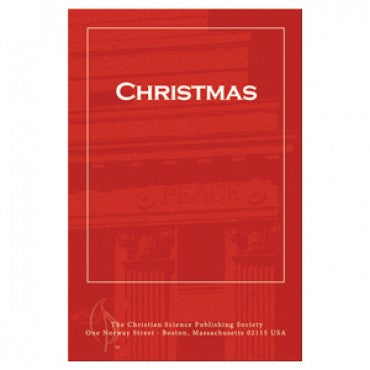 Pamphlet - Christmas - Christian Science