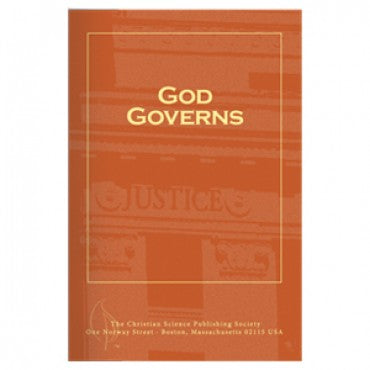 pamphlet - God Governs - Christian Science