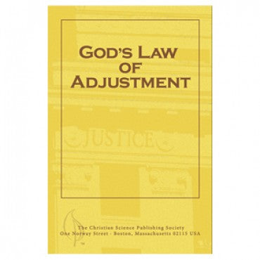 pamphlet - God's Law of Adjustment - Christian Science