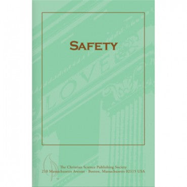 Pamphlet: Safety