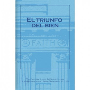 Pamphlet: El Triunfo Del Bien (Spanish) Triumph of Good