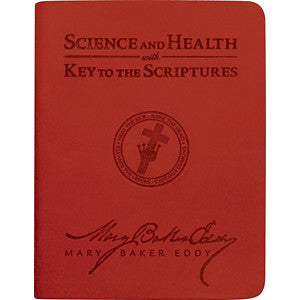 Science and Health (Ruby Red Vivella)