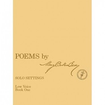 Poems by Mary Baker Eddy - Solo Settings, Low Voice, Book One