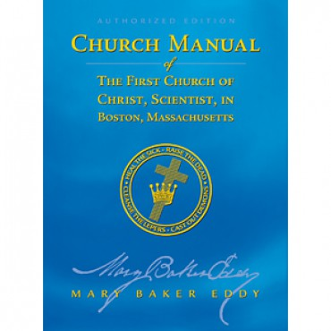 Church Manual - Study Paperback Christian Science