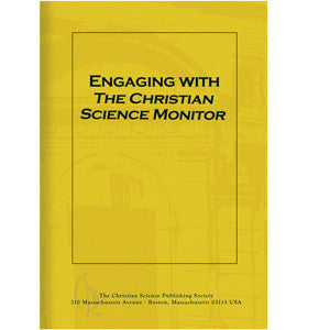 Pamphlet: Engaging with The Christian Science Monitor