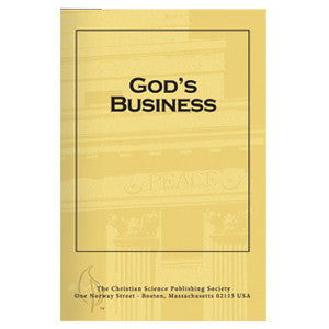Pamphlet: God's Business