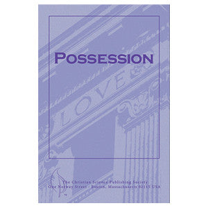 Pamphlet: Possession