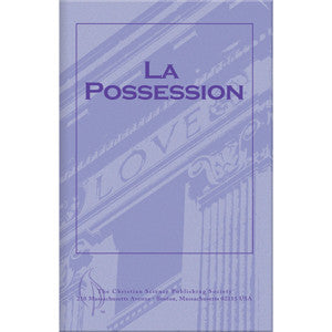 Pamphlet: La Possession (French)