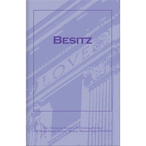 Pamphlet: Besitz (German) Possession