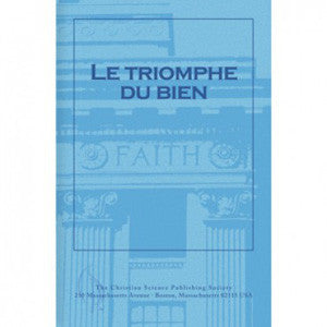 Pamphlet: Le Triomphe du Bien (French) Triumph of Good