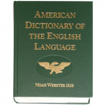 Webster's English Dictionary 1828