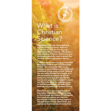 'What is Christian Science' brochure (Bundle of 100)