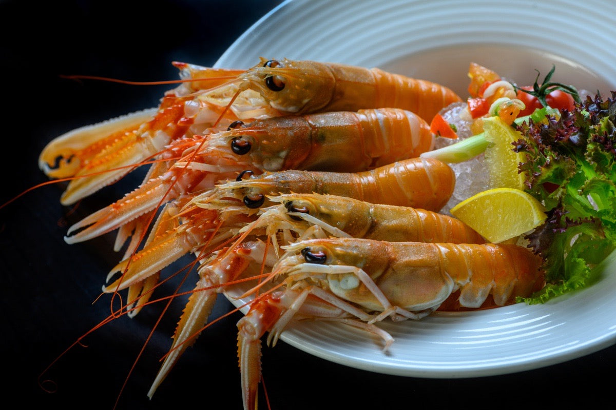 Whole Langoustine - 750g Frozen Tray Pack - 11 pieces