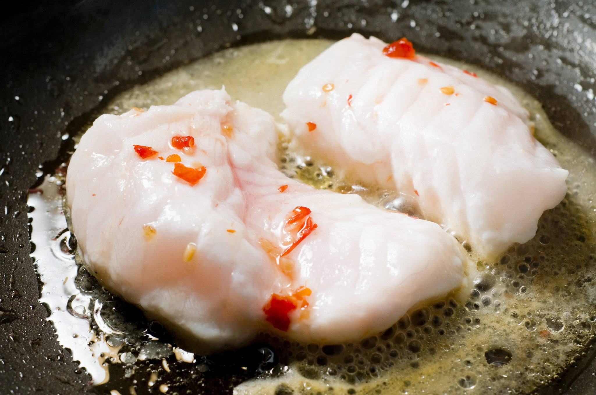 Monkfish - small grade skinless whole tail bone in ( 200g - 250g ) frozen