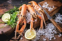 Large whole 4 piece Langoustine (500g)