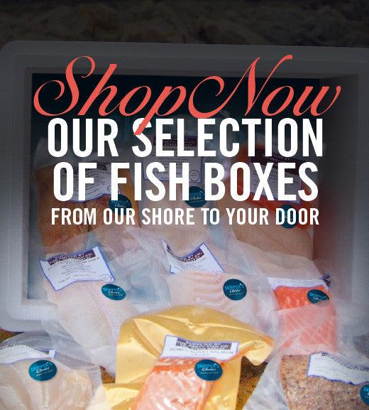 Choose any of our five fish boxes and you can be assured you're getting only the very best in sustainable, seasonal wild caught Scottish seafood