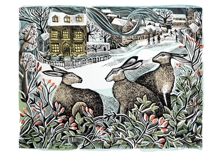 Angela Harding We Three Hares