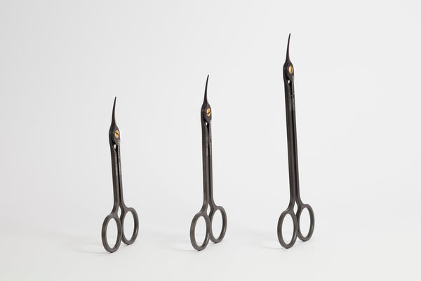 Medesy 3591/BLK - SCISSOR HI-TECH Curved 160mm Black