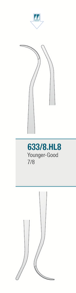 Medesy 633/8.HL8 - CURETTE YOUNGER-GOOD 7/8