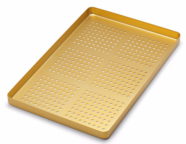 Medesy 998/FDS - TRAY PERFORATED ALUMINIUM GOLDEN