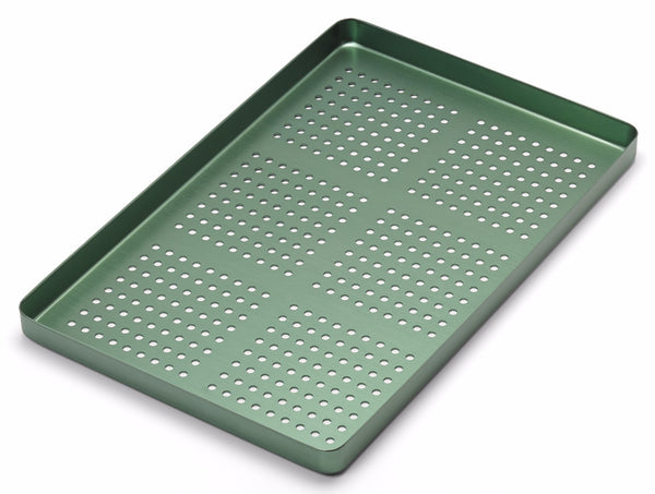 Medesy 998/FV - TRAY PERFORATED ALUMINIUM GREEN