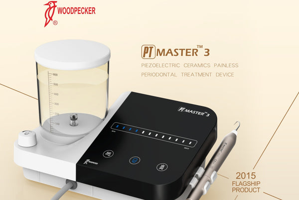 WOODPECKER PT MASTER 3 PIEZO unit for scaling, polishing and periodontal treatments