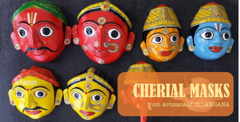 CHERIAL Masks of Telangana