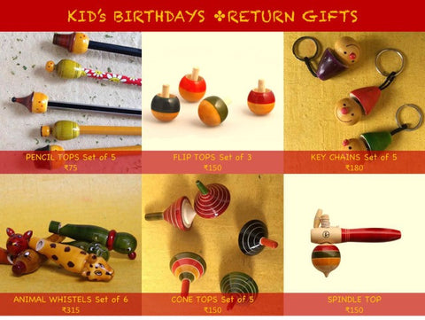Kids Birthday Return Gifts