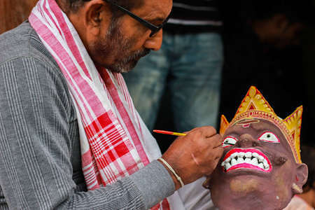 BHAONA PLAY Masks of Majuli, Assam