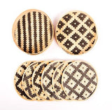 Fancy Bamboo Coasters