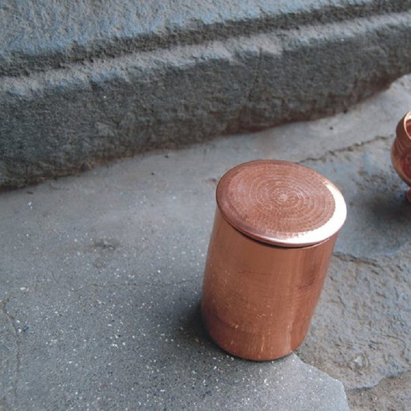 Copper Container Tall