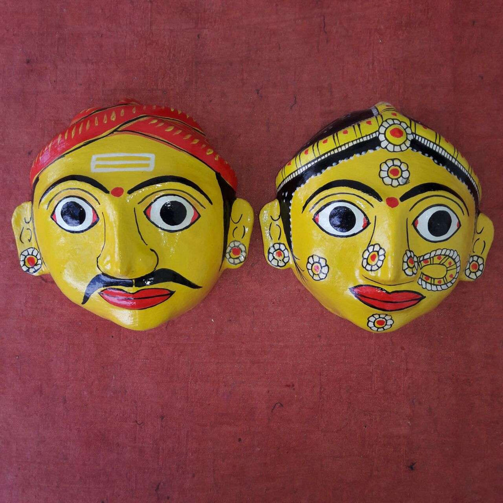Man and Woman Cherial Mask - Medium
