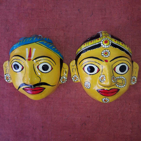 Man and Woman Cherial Mask - Small