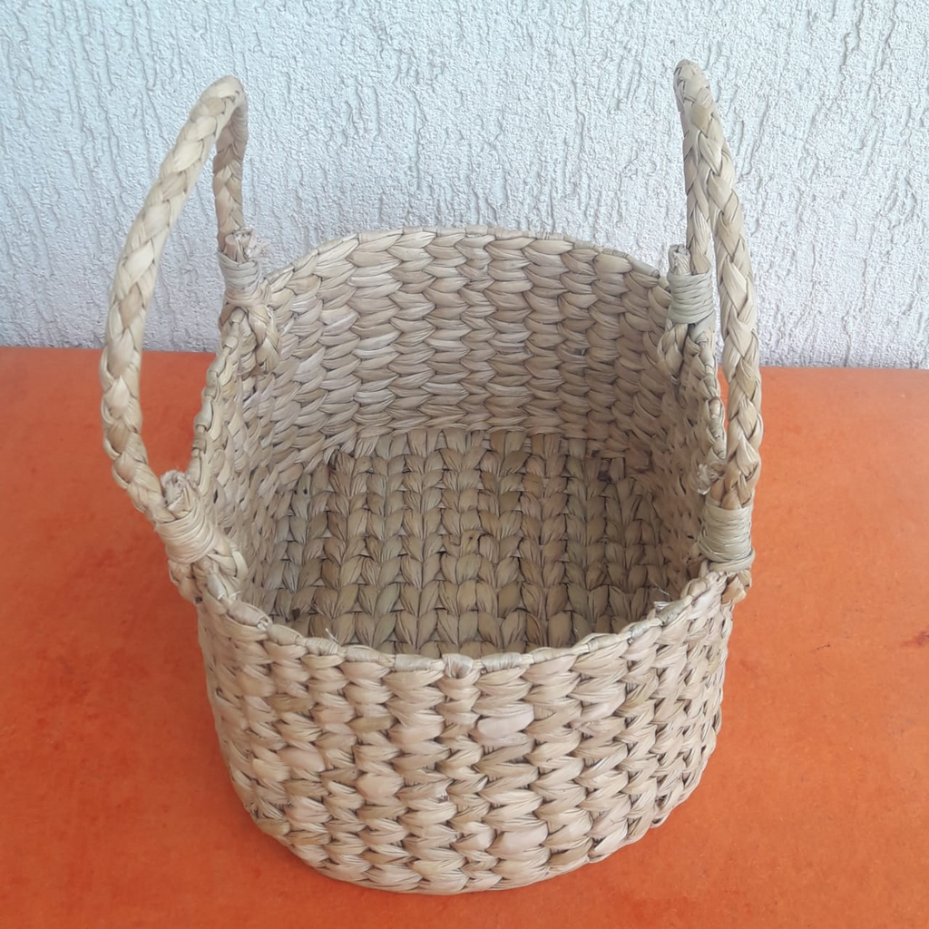 Kauna Reed Oval Small Basket
