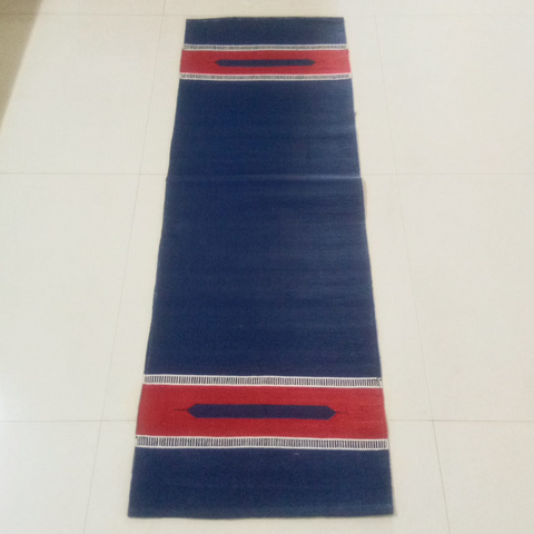 Indigo Organic Cotton Yoga Mat
