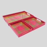 Kottan Wooden Trays (Set of 3)