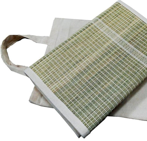 Darbha Grass Yoga Mat & Cotton bag