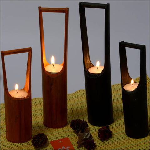 Kandeel – Bamboo Candle Holder