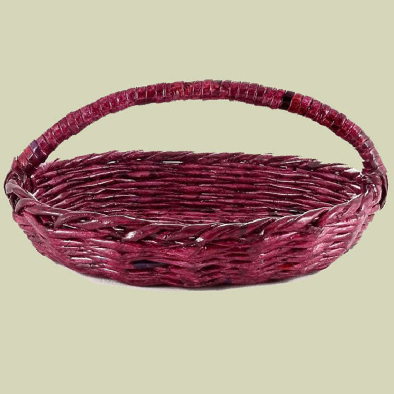 Vidhya Oval Basket with Handle