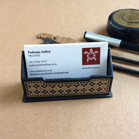 Bidri Business Card holder