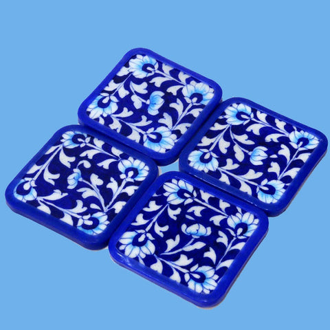 Floral Coaster Set of 4