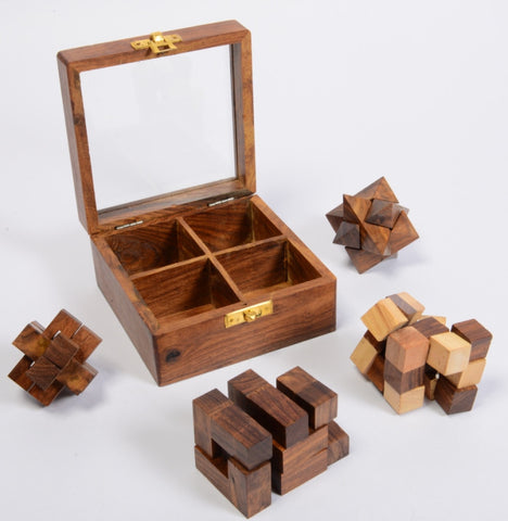 Multi-Puzzle Box Set