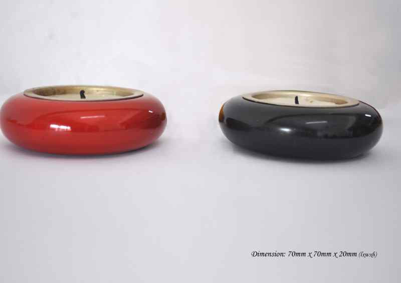 Ring Candle Holder - Set of 2