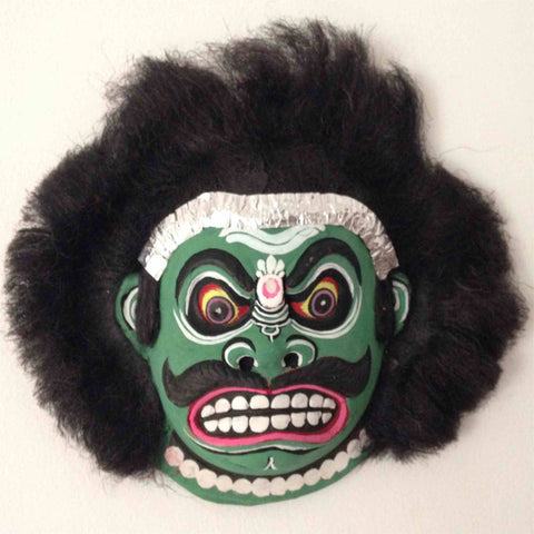 Green Demon - Mahishasura mask