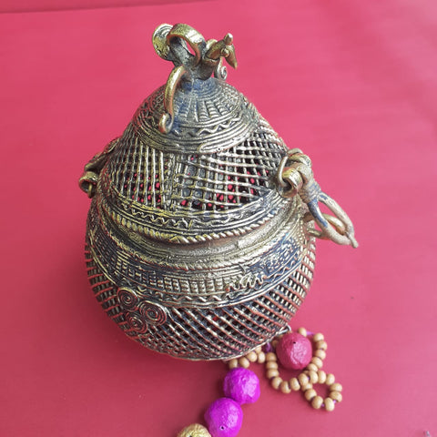 Dhokra Jewellery Box