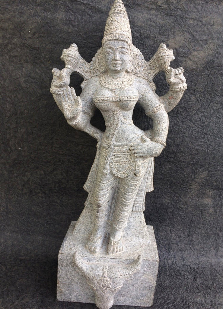Durga in Stone