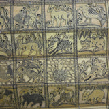 All Animals - Palm Pattachitra